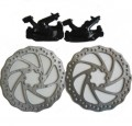 Tektro Front+Rear Aquila Disc Brake Rotor Caliper Mountain Bike
