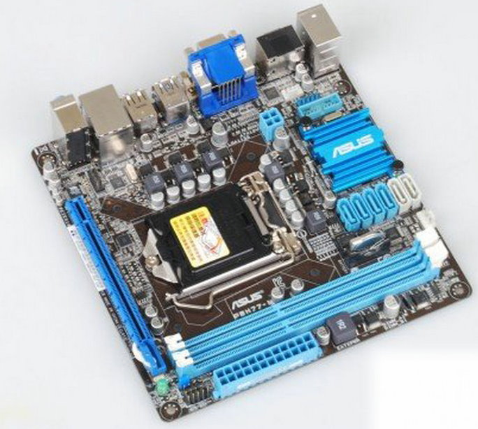 ASUS P8H77-I LGA 1155 Intel H77 HDMI SATA 6Gb/s USB 3 0 Mini